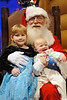 Claire and James Santa 2009