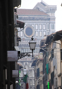 Street lamps in Florance