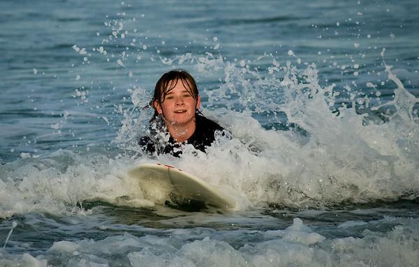Lucas Surfing