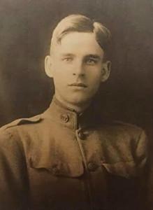 Grandfather Harry Adams.