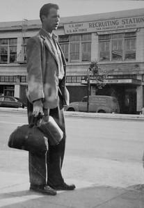 Ernie Krumm heads to Japan, perhaps 1951 or 52.
