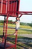 Nicole on playground at Hester