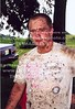 Donny covered in mud from riding 4wheeler May 1998