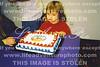 Nicole with cake