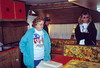 3-30-03 Vivian Virginia Donny in Vivian's camper