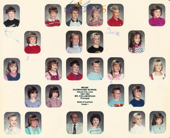 Sabrina 1st grade 1984-1985