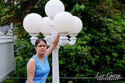 Patty size light pole!