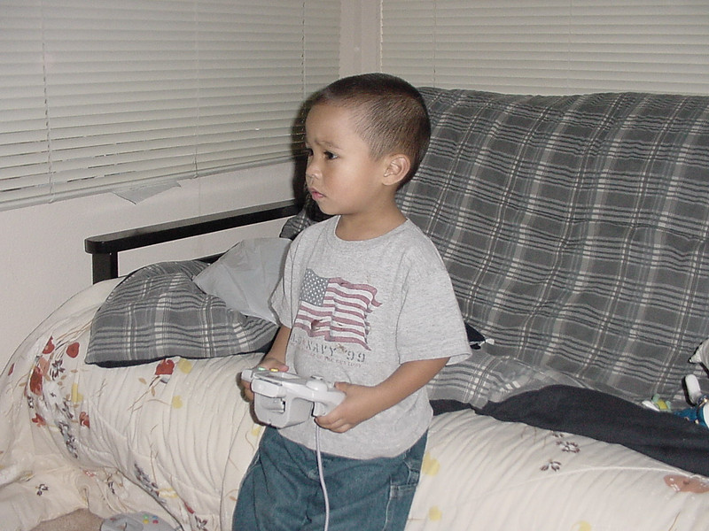 Playing video games<br /> 2000