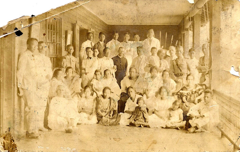 Dad (Standing far right)
