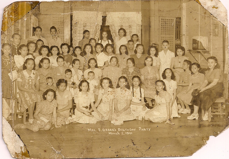 1941 Mama's Birthday Party<br /> 9 months before Pearl Harbor.