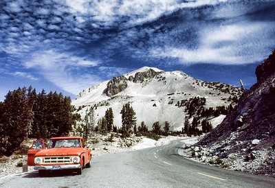 Lassen National Park, August 1982