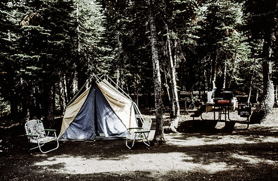 Lassen National Park, August 1982