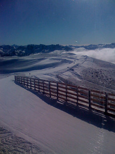 Top of Mammoth, 11000ft