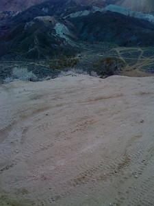 Top of  a hill climb @ Jawbone Canyon, Mojave Desert, CA