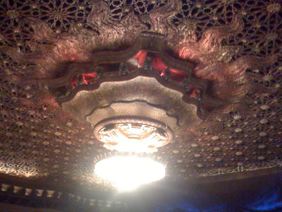 Orpheum theater during Wicked.