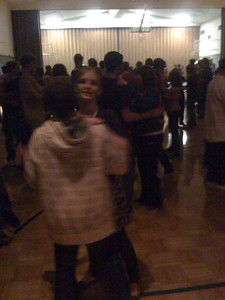 Jenae's stalker dancing with her