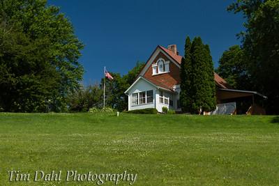 Grandpa's schoolhouse.  Elk Creek, WI.