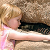 Claire Loved the Gila Monster.  She just called it the monster though.
