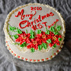 The Christmas cake by Beth Salvador.