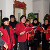 The Fil-Am Carolers is an accomplished group of singers. The UST Architecture Alumni Group were glad they stayed and performed longer.