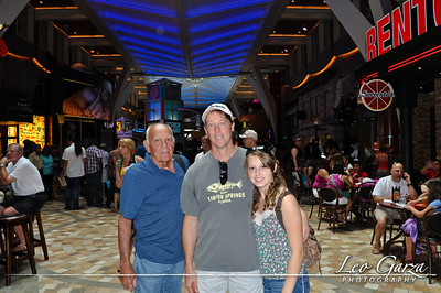 Dad, Bill and Brittany