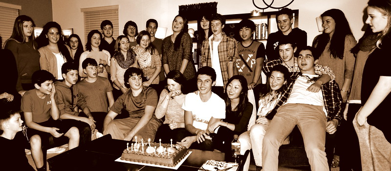 Zach's 15th Birthday