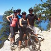 Flume Trail with Kristy and Matt - Tahoe, July 2014