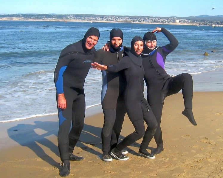 Monterey dive with Katy and Pascal - October 2011