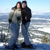 Skiing with Salangyi - Lake Tahoe, January 2009