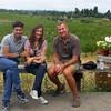 Vino, Amanda and Giancarlo - Sonoma, July 2014
