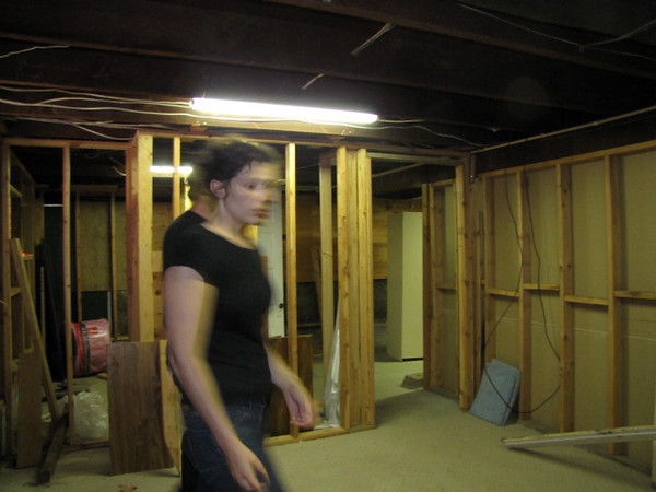 Full size basement with room for two additional bedrooms, utility area, and another bath.