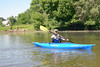Kayak's away!!! Darice and most others had a solo craft to cruise Scappoose Bay and on to the Columbia.