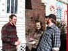 Eric, Sara, and Alan's first geocache!