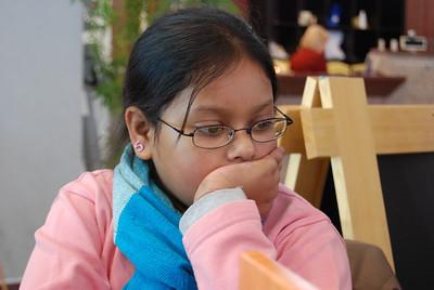 Sohini contemplates the arrival of ice cream