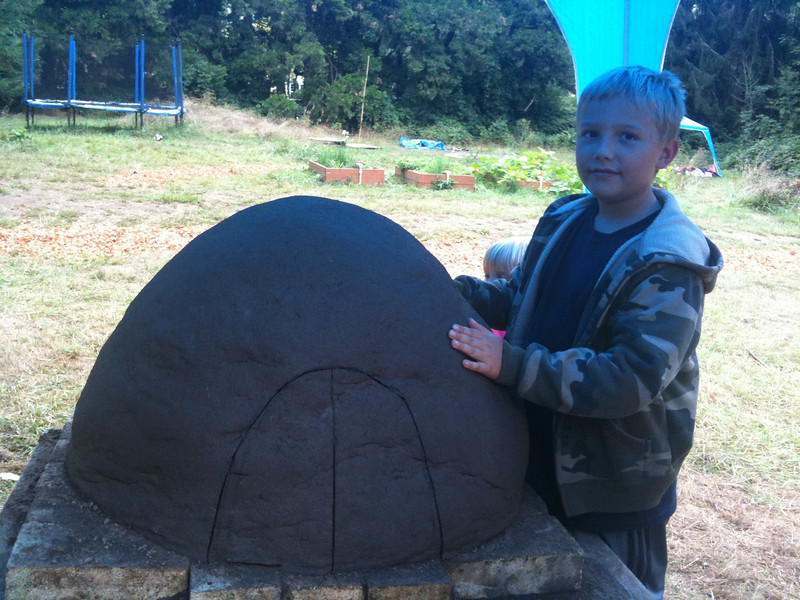 Ian's swallowtail class the earth oven