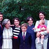 Avrin family members celebrate Grandma Sylvia's 70th birthday in 1984.