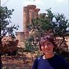 Judy at Agrigento, Sicilia 1982.