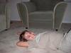 Derek on floor