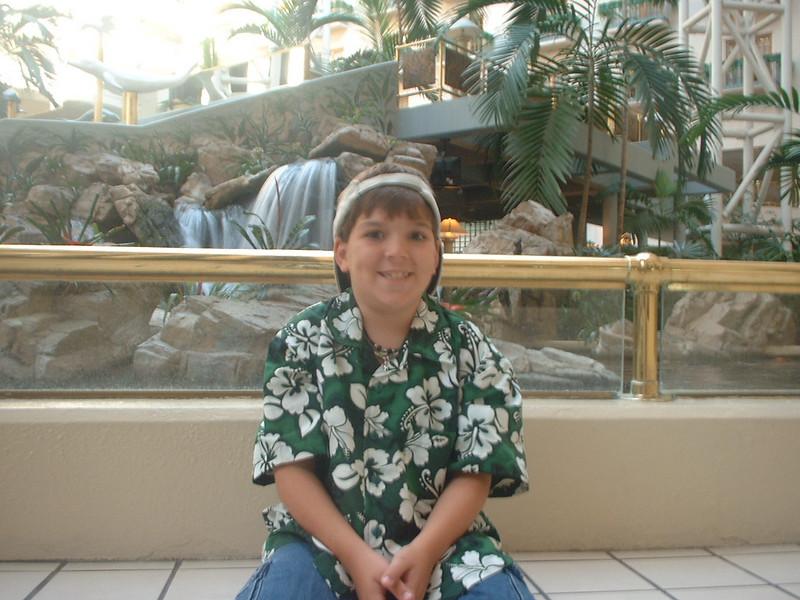 Derek in lobby
