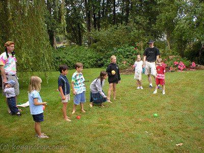 bocce tournament august 2003