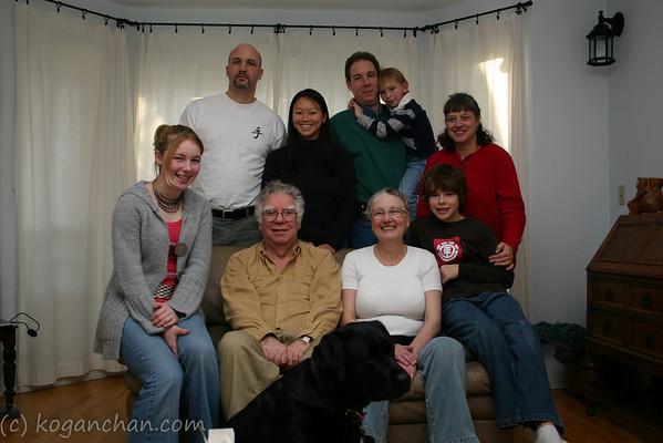 family gatherings december 2006
