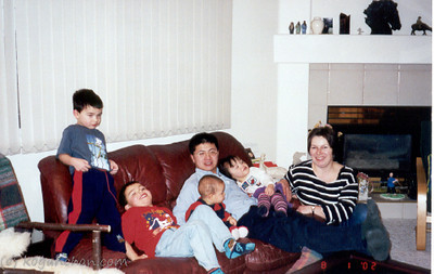 hock lai and family's visit january 2002