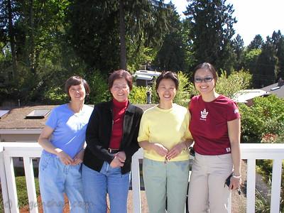 mum & aunt priscilla's visit april 2004