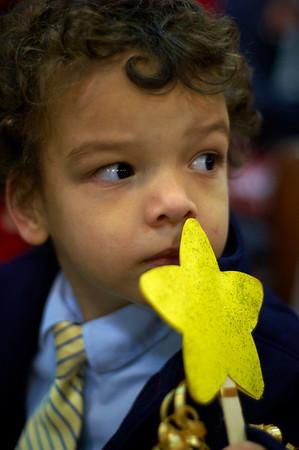 Tristan's preschool concert -- December 16th '10