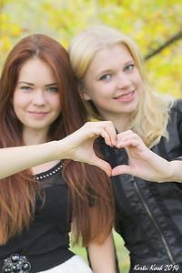 Kaks tüdrukut
