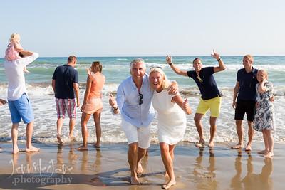 Beach Family Photo Shoot - Elviria, Marbella