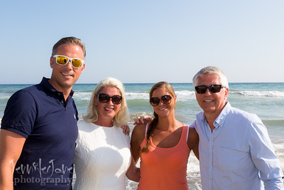 Beach Family Photo Shoot - Elviria, Marbella