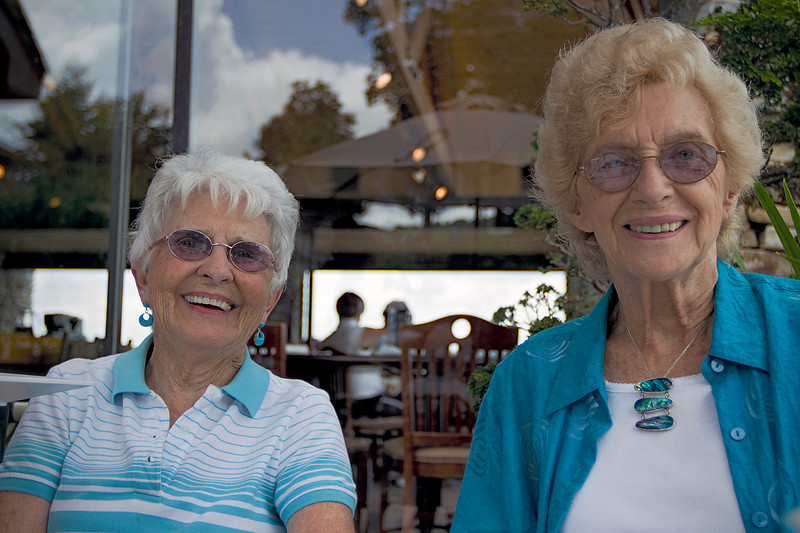 Betty & Peggy<br /> Mountain Air, July 21, 2010