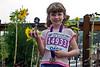 Montréal Marathon pour les enfants<br /> 1rst place trophy, 6-year old filles (1 km)<br /> September 14, 2008