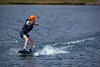 First try with a wake board <br /> Benson, NC, June 29, 2013